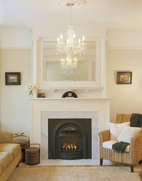 Tips For Displaying Large Mirrors In A Living Room Pertaining To Large Mantel Mirrors (#29 of 30)