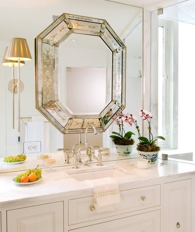 Today's Venetian Glass Mirrors Intended For Gold Venetian Mirrors (#13 of 20)