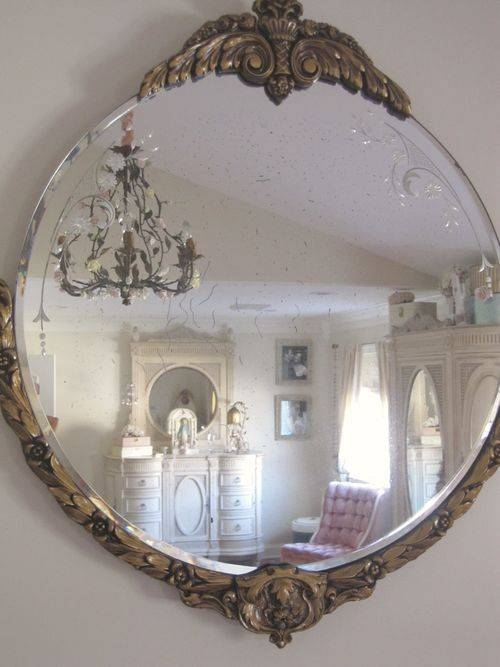 Top 25+ Best Antique Mirror Walls Ideas On Pinterest | Antique Inside Buy Vintage Mirrors (#18 of 20)