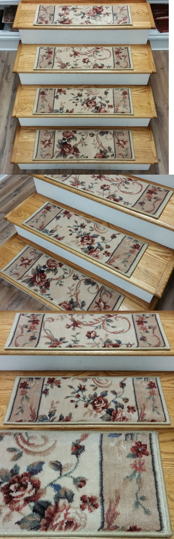 Top 25 Best Carpet Stair Treads Ideas On Pinterest Wood Stair In Country Stair Tread Rugs (View 10 of 20)