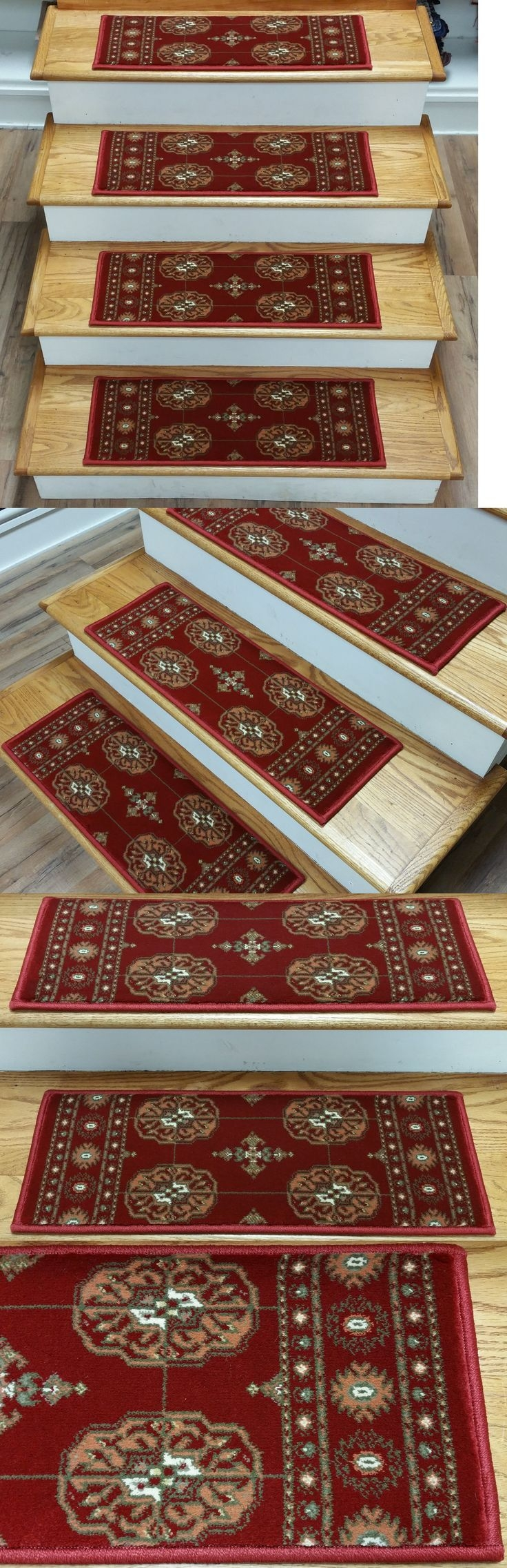 Top 25 Best Carpet Stair Treads Ideas On Pinterest Wood Stair Intended For Rustic Stair Tread Rugs (#18 of 20)