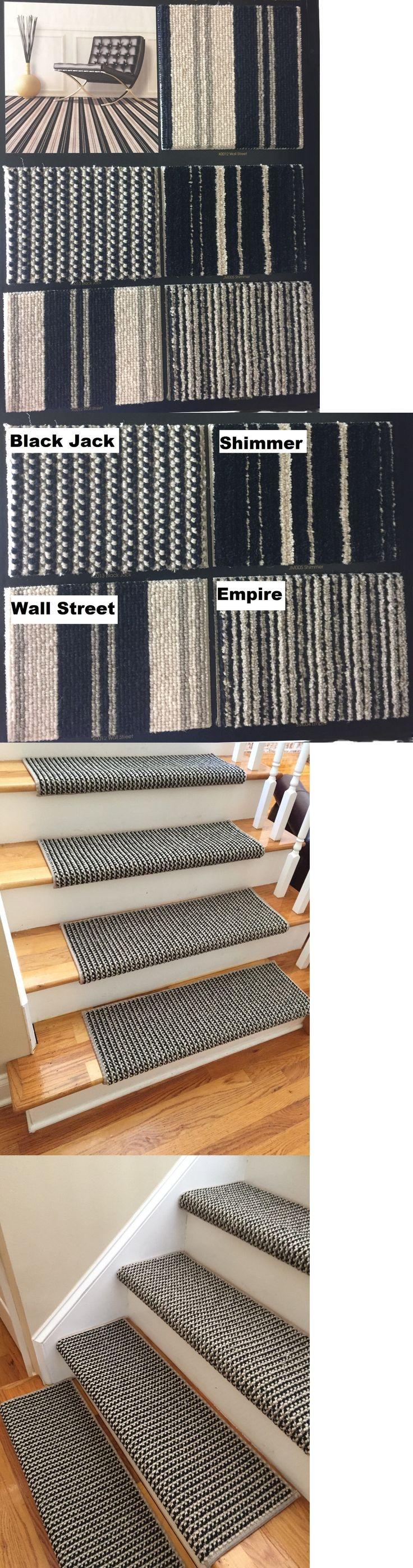 Top 25 Best Carpet Stair Treads Ideas On Pinterest Wood Stair Intended For Wool Carpet Stair Treads (#19 of 20)