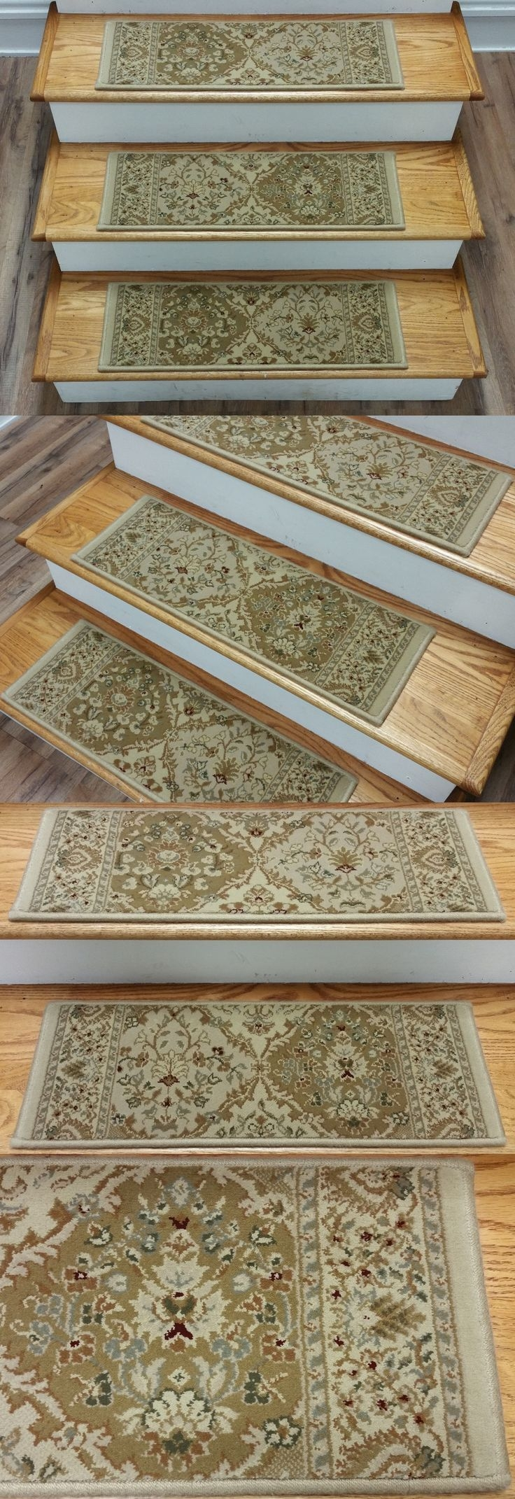 Top 25 Best Carpet Stair Treads Ideas On Pinterest Wood Stair Regarding Basket Weave Washable Indoor Stair Tread Rugs (#19 of 20)