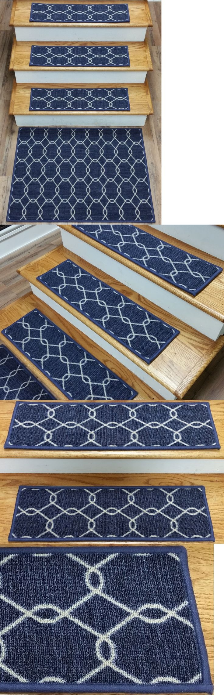 Top 25 Best Carpet Stair Treads Ideas On Pinterest Wood Stair Regarding Stair Treads And Matching Rugs (#19 of 20)