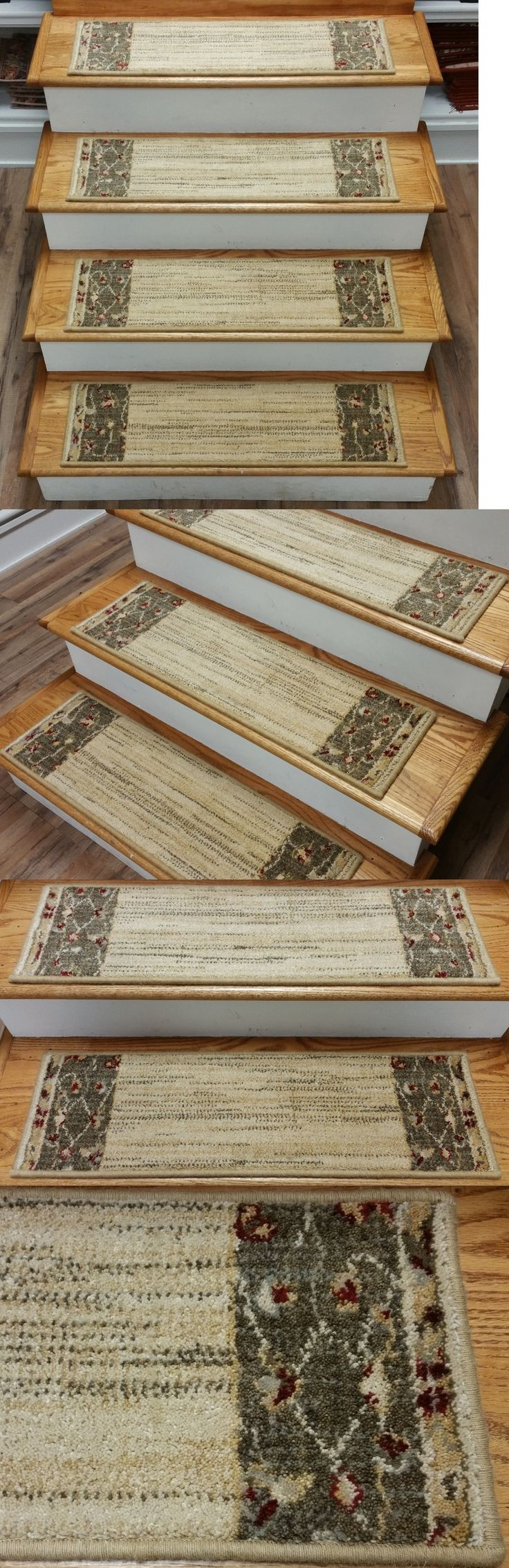 Top 25 Best Carpet Stair Treads Ideas On Pinterest Wood Stair With Regard To Wool Carpet Stair Treads (#20 of 20)