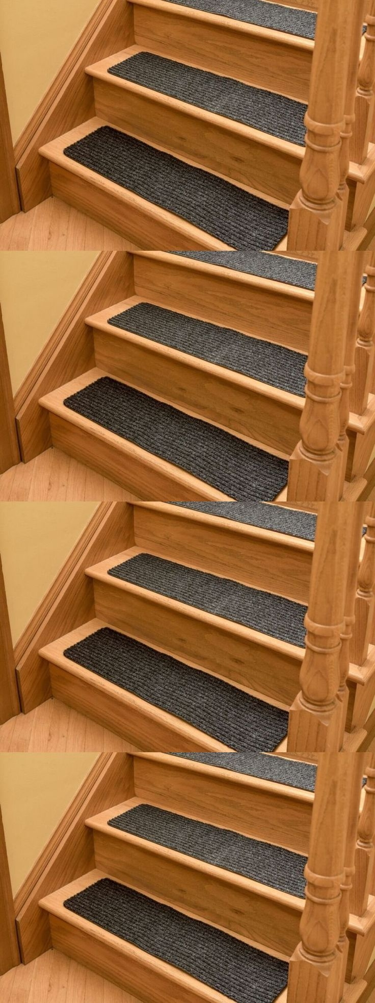 Top 25 Best Carpet Stair Treads Ideas On Pinterest Wood Stair Within  Nonskid Solid Stairtread Rugs