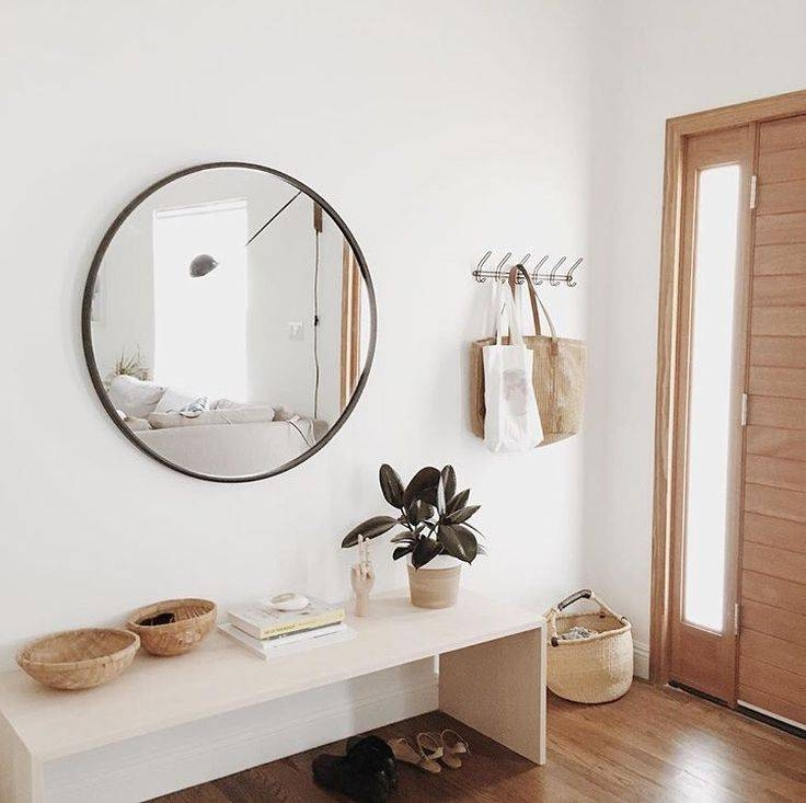 Top 25+ Best Circle Mirrors Ideas On Pinterest | Large Hallway Intended For Large Hallway Mirrors (#30 of 30)