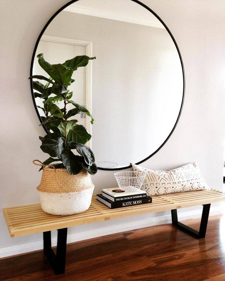Top 25+ Best Circle Mirrors Ideas On Pinterest | Large Hallway With Large Black Round Mirrors (#29 of 30)