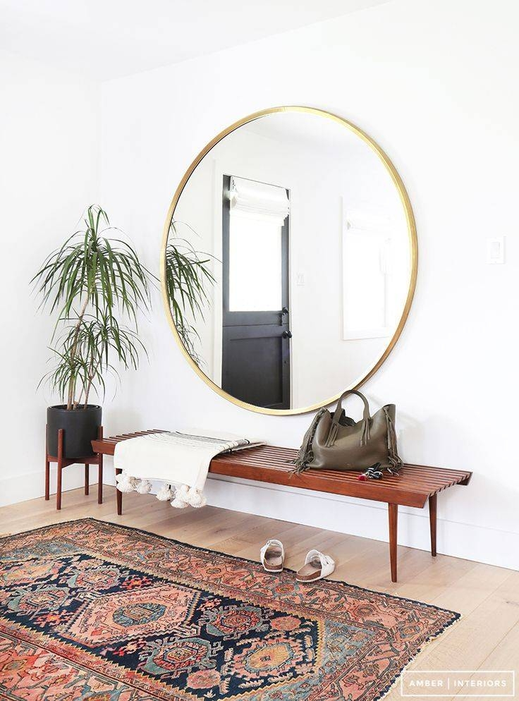 Top 25+ Best Circle Mirrors Ideas On Pinterest | Large Hallway Within Mirrors Circles For Walls (#28 of 30)