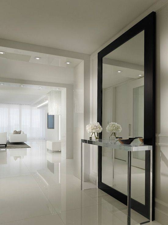Top 25+ Best Contemporary Framed Mirrors Ideas On Pinterest Inside Large Contemporary Mirrors (#28 of 30)