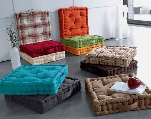 15 Collection Of Floor Cushion Sofas