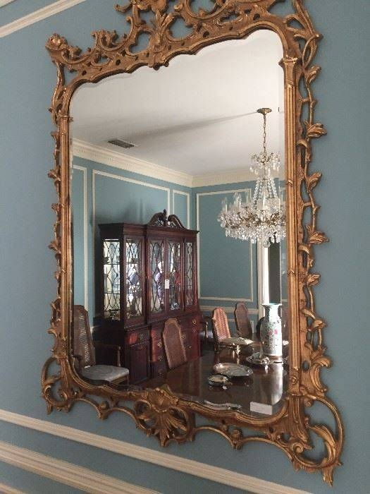 Top 25+ Best Large Gold Mirror Ideas On Pinterest | Painting Intended For Extra Large Gold Mirrors (View 14 of 15)