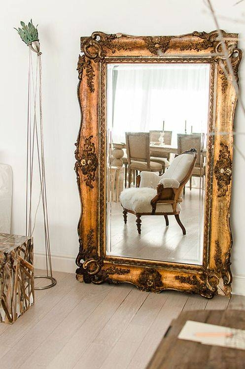 Top 25+ Best Large Gold Mirror Ideas On Pinterest | Painting With Regard To Giant Antique Mirrors (#20 of 20)