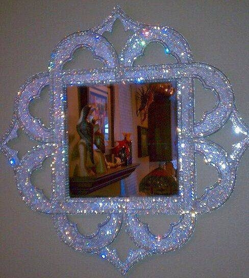 Top 25+ Best Mirror In Bedroom Ideas On Pinterest | Bedroom Inspo Regarding Wall Mirrors With Crystals (#18 of 20)