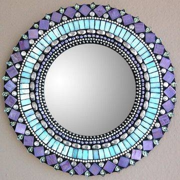 Top 25+ Best Mosaic Mirrors Ideas On Pinterest | Mosaic, Mosaic Pertaining To Round Mosaic Mirrors (#30 of 30)