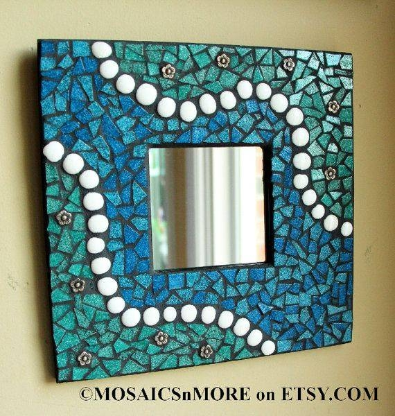Top 25+ Best Mosaic Mirrors Ideas On Pinterest | Mosaic, Mosaic With Mosaic Wall Mirrors (#19 of 20)