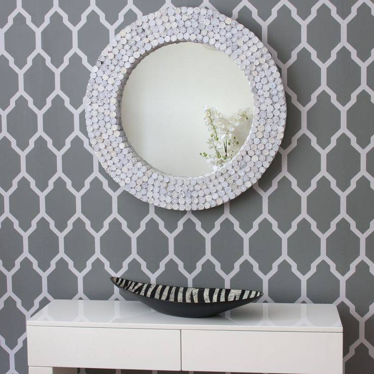 Top 25+ Best Recycled Mirrors Ideas On Pinterest | Best Glue For Pertaining To Funky Round Mirrors (View 30 of 30)