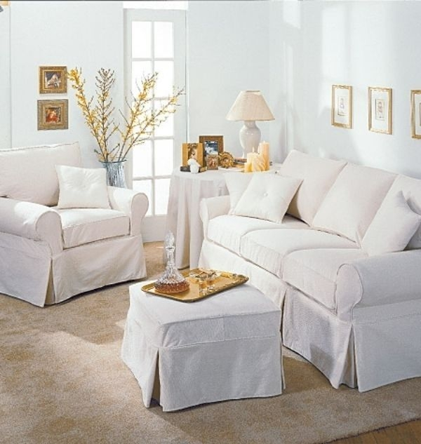 Top 5 Sofa Slipcover Patterns Ebay Within Slipcovers For Sofas And Chairs (#15 of 15)