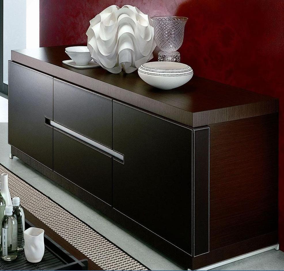 Top 7 Luxurious Dark Wood Sideboards / Buffets – Cute Furniture For Dark Sideboards (#19 of 20)