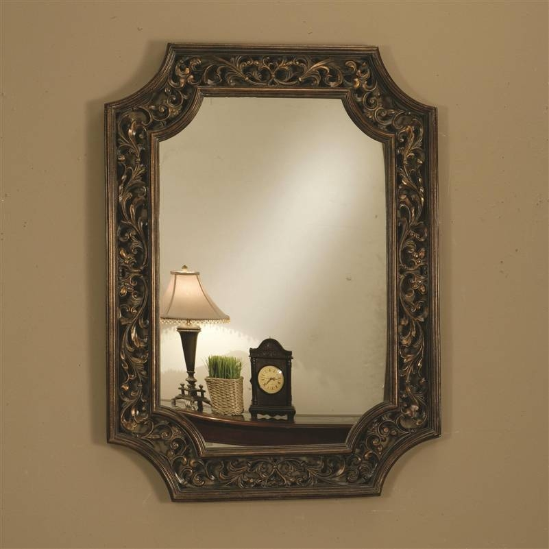 Popular Photo of Bronze Wall Mirrors