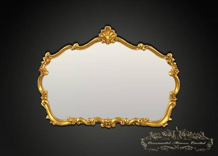 Traditional Ornamental Gilt Mirror From Ornamental Mirrors Limited Pertaining To Ornamental Mirrors (View 11 of 20)