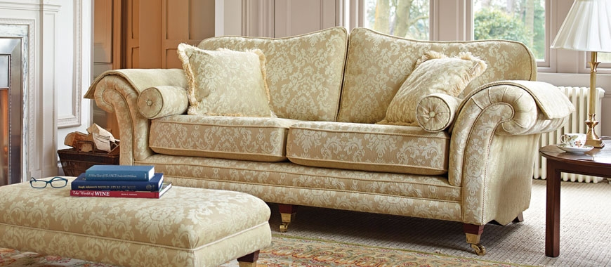 Traditional Sofas British Made Fabric Leather Sofasofa Pertaining To Classic English Sofas (View 14 of 15)