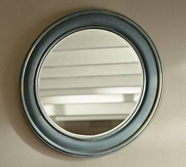 Popular Photo of Blue Round Mirrors