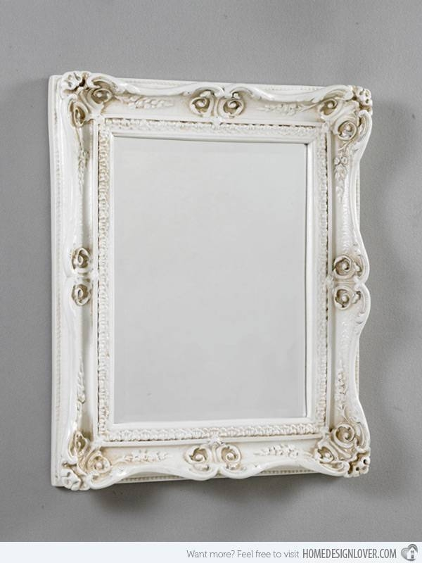 Treasure Memories In These 15 Vintage And Antique Mirrors | Home Intended For Vintage French Mirrors (#30 of 30)