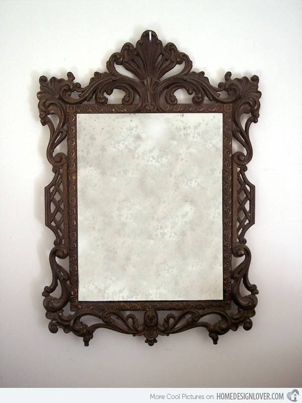Treasure Memories In These 15 Vintage And Antique Mirrors | Home Intended For Vintage Mirrors (View 3 of 20)