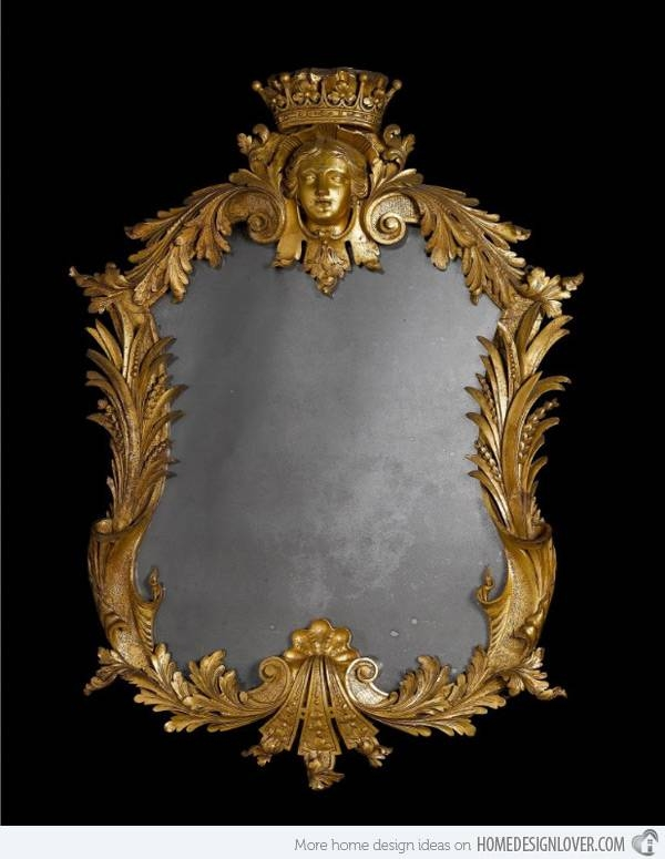 Treasure Memories In These 15 Vintage And Antique Mirrors | Home Throughout Expensive Mirrors (#18 of 20)