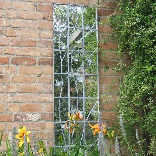 Trellis Garden Mirror For Metal Garden Mirrors (#29 of 30)