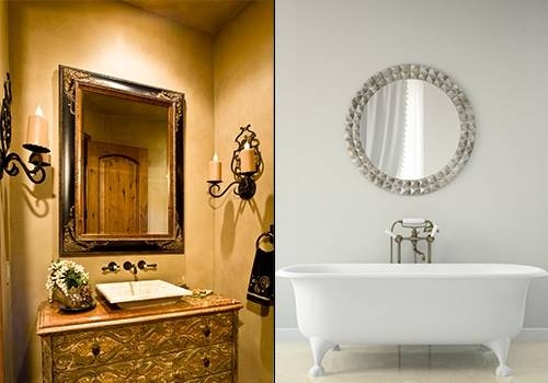 30 ideas of old style mirrors. Black Bedroom Furniture Sets. Home Design Ideas