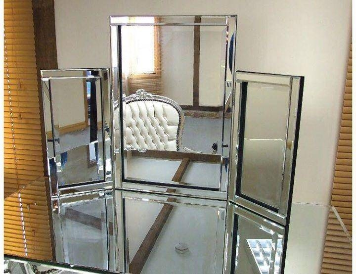 Tri Fold Dressing Table Free Standing Mirror With Free Standing Mirrors For Dressing Table (#28 of 30)
