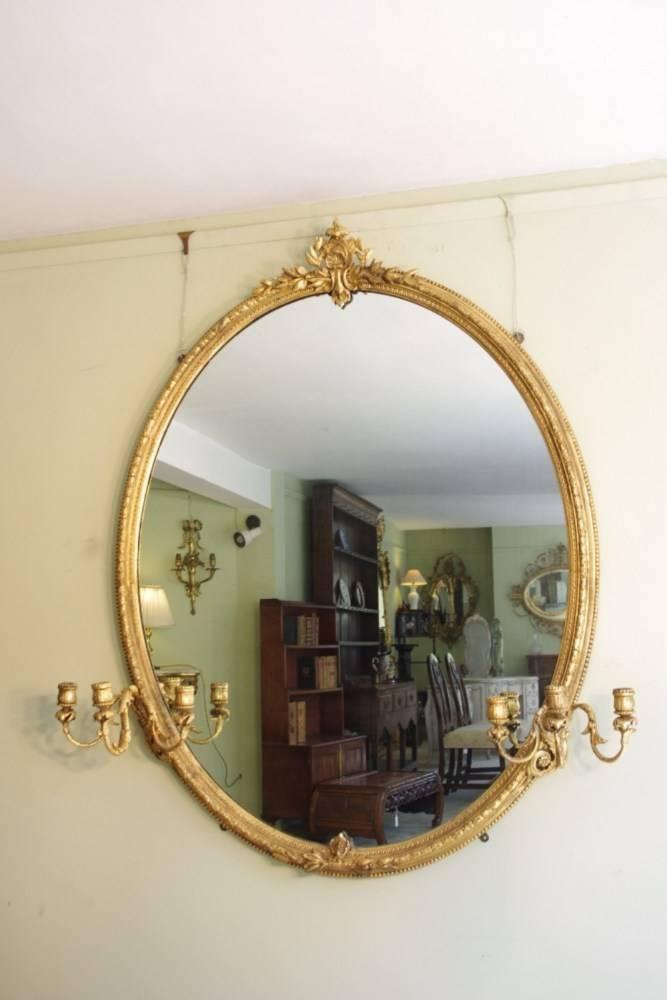Triple Oval Wall Mirror | Home Design Ideas Pertaining To Triple Oval Wall Mirrors (#14 of 20)