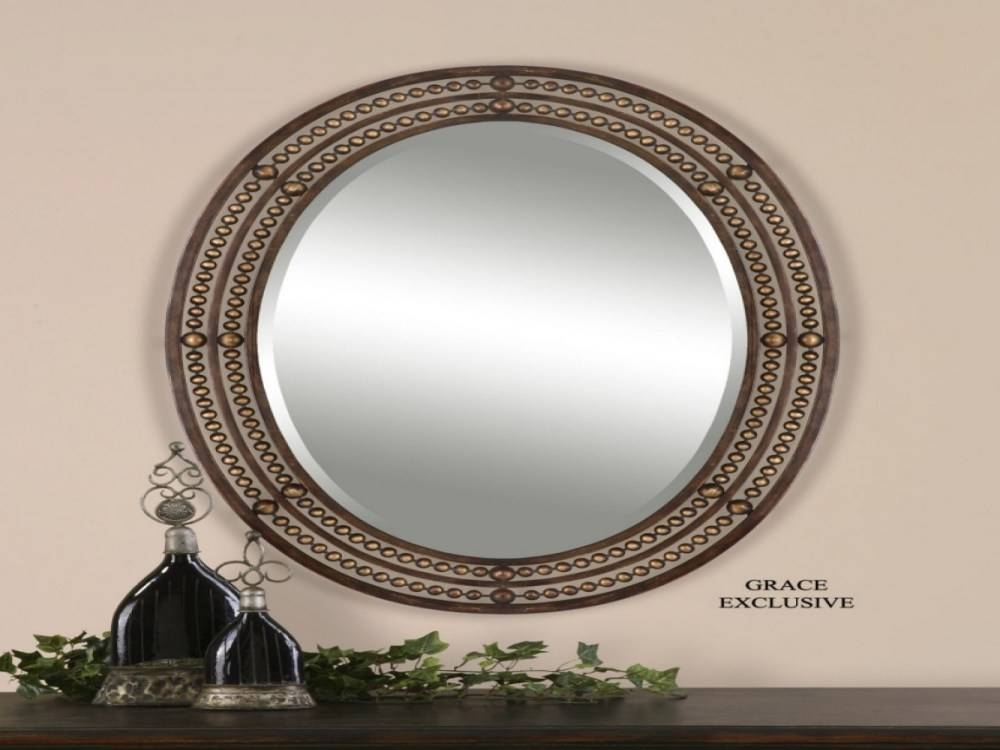 Triple Oval Wall Mirror | Home Design Ideas With Regard To Triple Oval Wall Mirrors (#15 of 20)