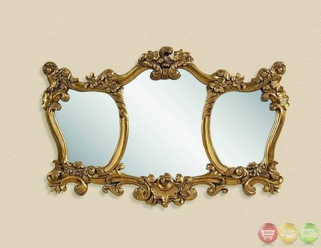Triple Oval Wall Mirror | Home Design Ideas Within Triple Oval Wall Mirrors (#16 of 20)