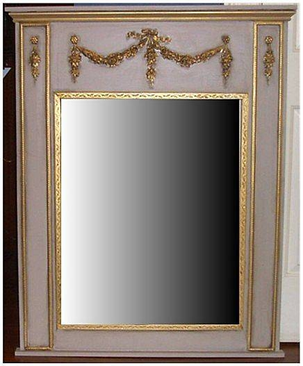 Trumeau French Style Wall Mirror From Carolines Collectibles On Intended For French Style Wall Mirrors (#30 of 30)