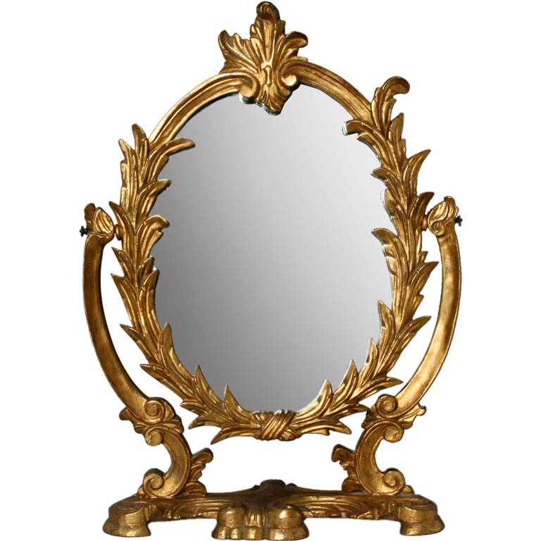 Try Just Changing The Vanity Mirror | Homes And Garden Journal Within Old Style Mirrors (#25 of 30)