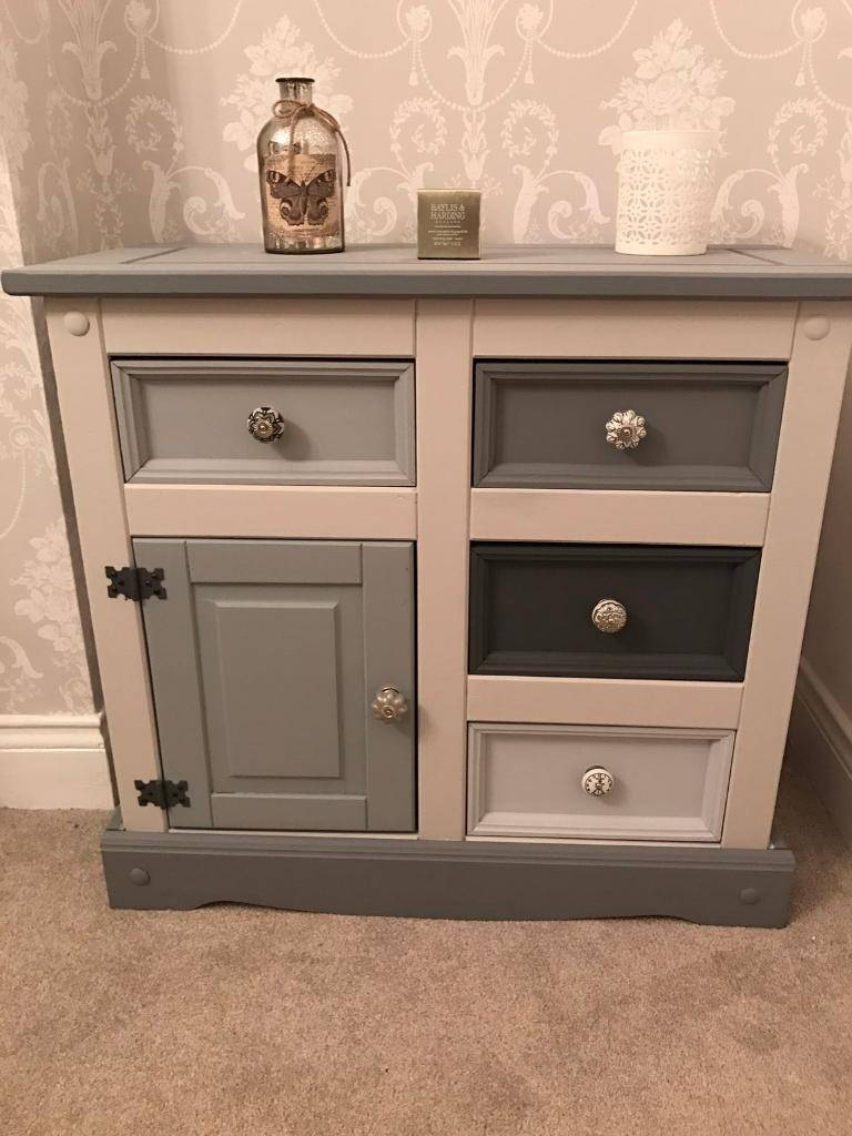 Tv Unit Small Sideboard Cabinet Drawers | In Consett, County Regarding Small Sideboard Cabinet (#18 of 20)