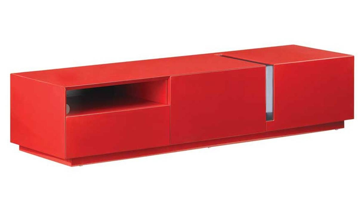 Tv027 Modern Tv Stand In Red High Gloss | Free Shipping | Get Within Red High Gloss Sideboard (View 18 of 20)