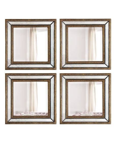 Two Norlina Square Wall Mirrors Throughout Square Wall Mirrors (View 13 of 20)
