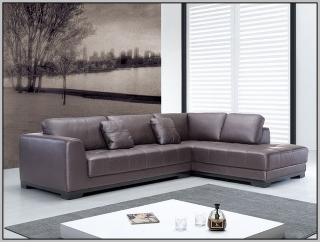 Inspiration about U Shaped Sectional Sofa Leather Sofas Home Decorating Ideas Throughout Leather L Shaped Sectional Sofas (#13 of 15)