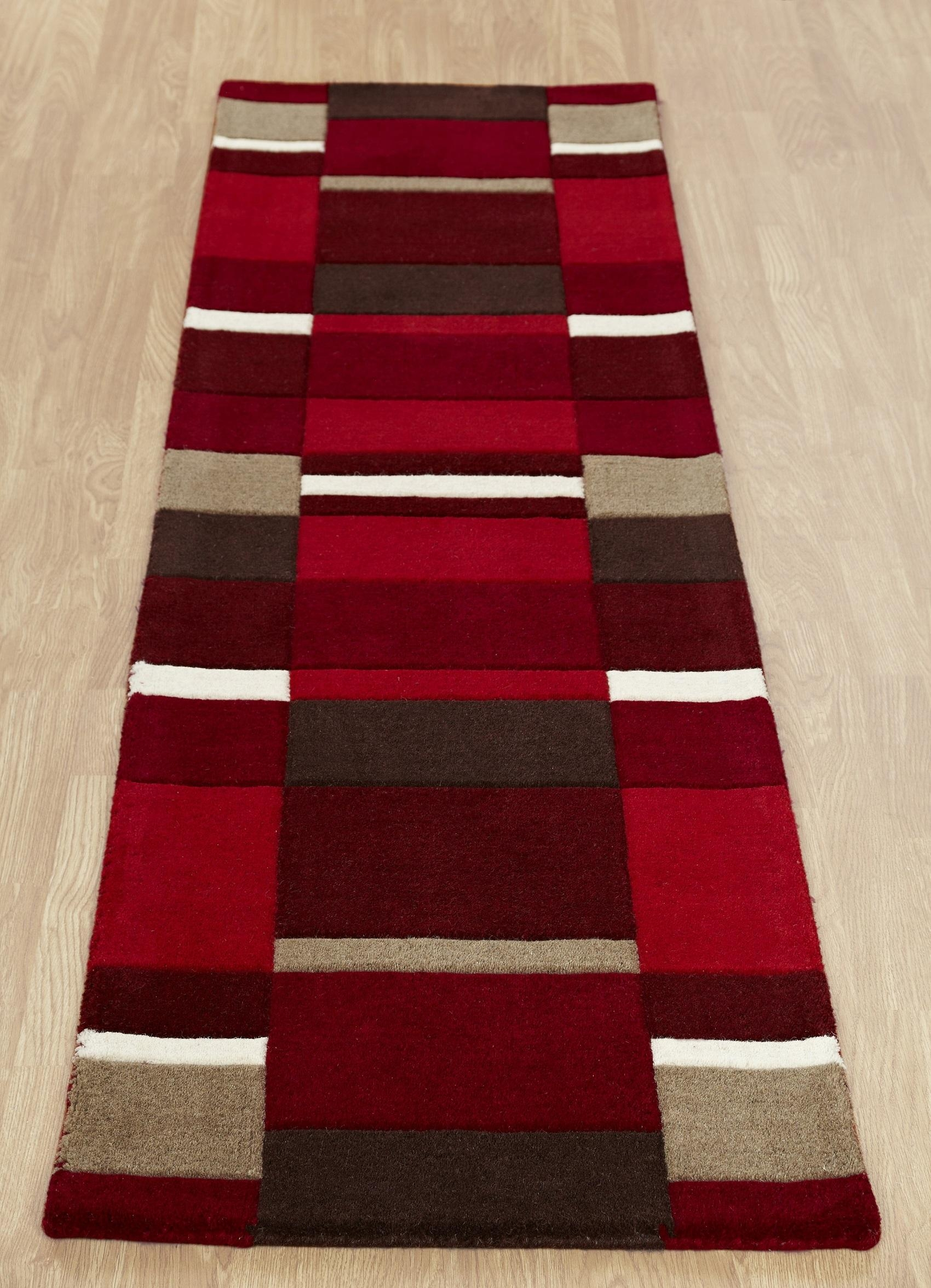 Popular Photo of Red Runner Rugs For Hallway