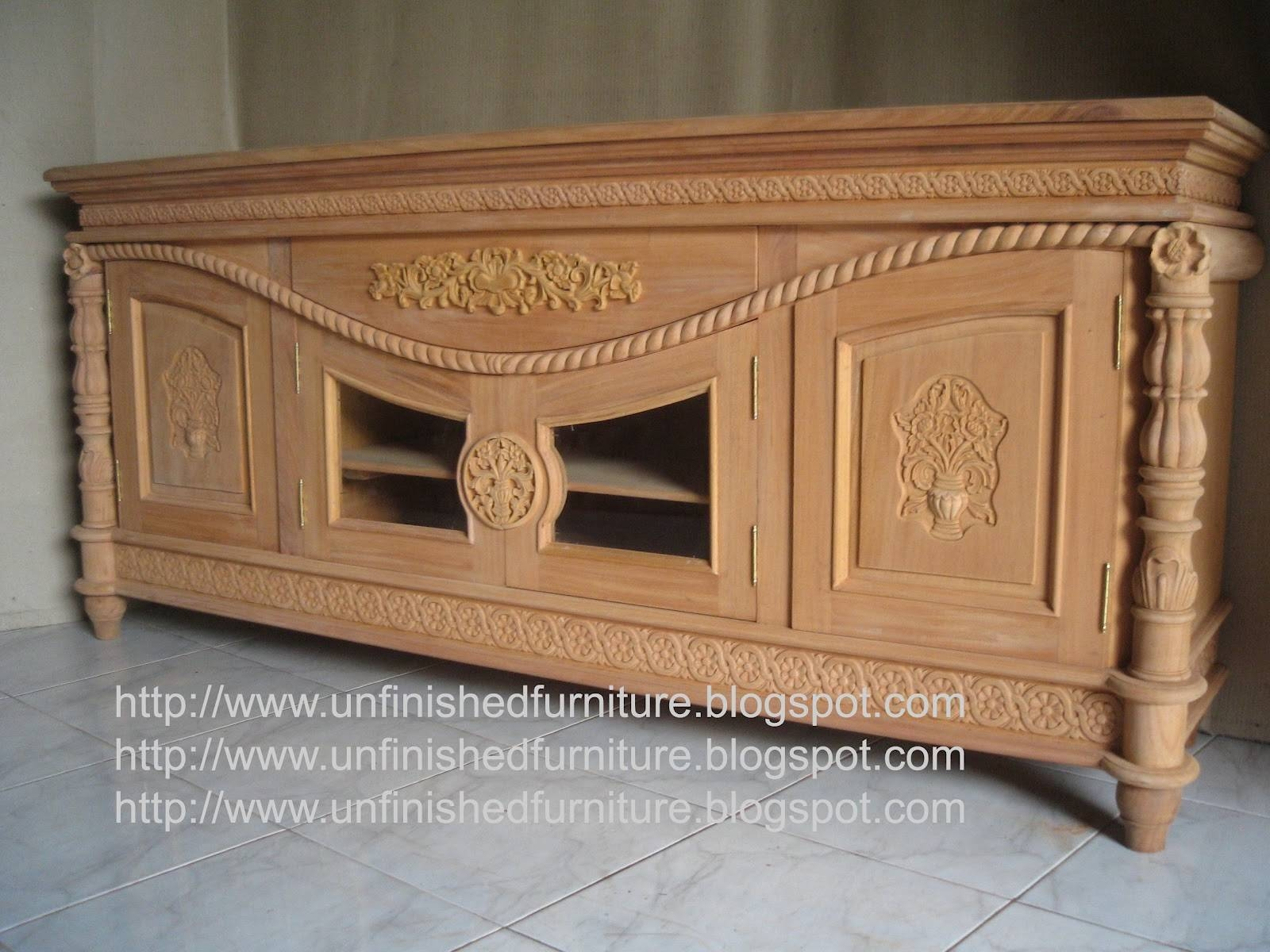 Inspiration about Unfinished Mahogany Furniture: Unfinished Classic Furniture Cordon With Unfinished Sideboard (#19 of 20)