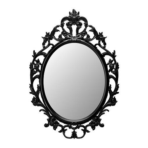 Inspiration about Ung Drill Mirror – Ikea Throughout Black Oval Mirrors (#9 of 30)