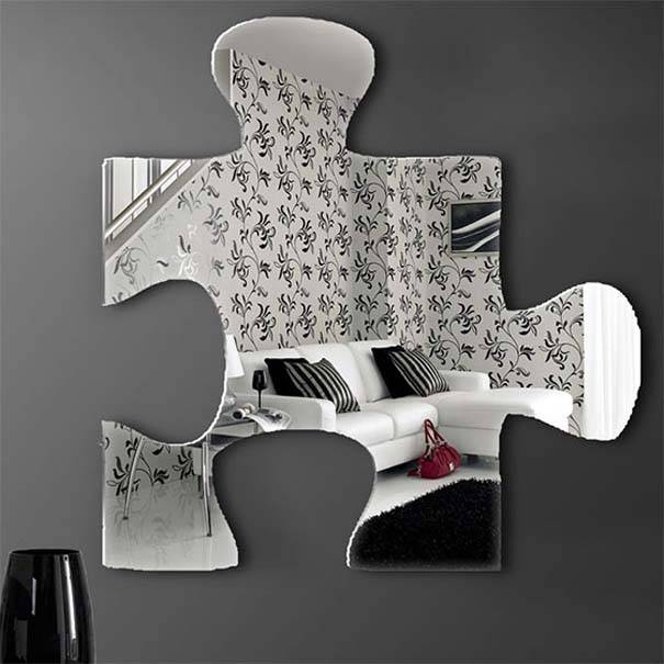 Inspiration about Unique And Stunning Wall Mirror Designs For Living Room Regarding Interesting Wall Mirrors (#4 of 20)