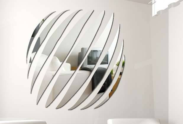 Unique And Stunning Wall Mirror Designs For Living Room Throughout Unusual Shaped Mirrors (#14 of 20)