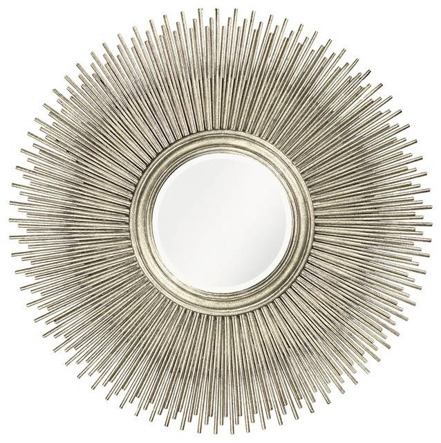 Unique Style Howard Elliott Singapore Mirror Home Accent Decor Inside Large Round Silver Mirrors (#30 of 30)