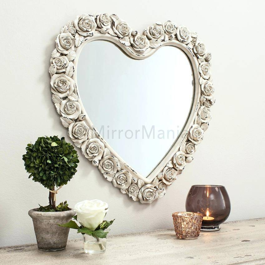 Unusual Shaped Wall Mirrors Uk – Shopwiz In Cream Mirrors (#29 of 30)