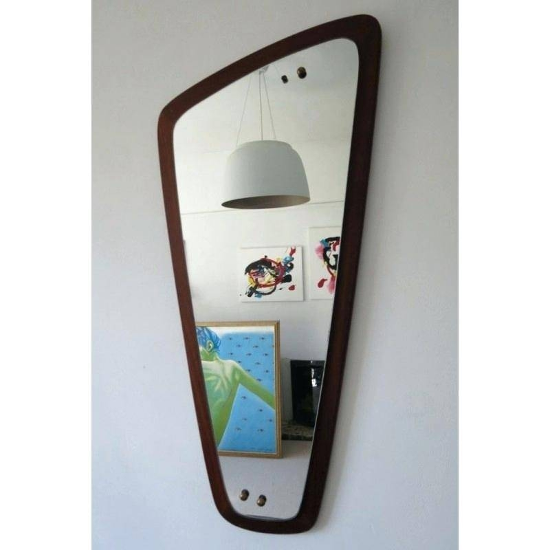 Inspiration about Unusual Shaped Wall Mirrors Uk – Shopwiz Throughout Retro Wall Mirrors (#1 of 20)